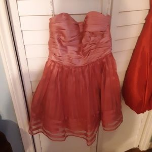 Dresses & Skirts - Strapless Betsey Johnson Cocktail Homecoming